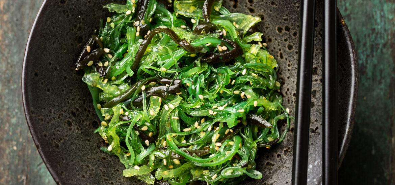 algues régime végétarien et sportif